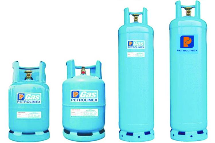 Các loại bình gas Petrolimex