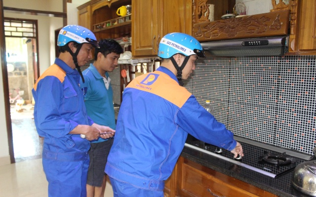 lắp đặt gas petrolimex Thanh Xuân